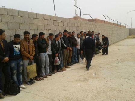 ترحيل 38 مصري دخلوا ليبيا بتأشيرات مزورة