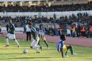 الأهلي طرابلس في مواجهة الوداد البيضاوي المغربي في البطولة العربية لكرة القدم