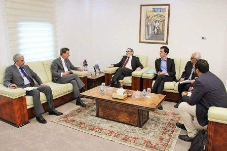 صنع الله : نتطلع لعودة شركة BP إلى قطاع النفط الليبي