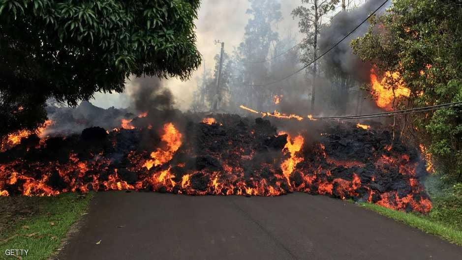 هاواي.. الغضب البركاني يهدد