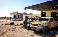 جندي ومدني حصيلة ضحايا الهجوم الإرهابي على بوابة الـ 90 شرق سرت