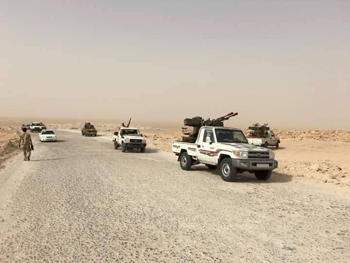 رصد تحركات لعناصر داعش جنوب شرق سرت