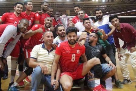 أباتشي الأهلي بنغازي يتوج بكأس ليبيا لكرة الطائرة