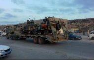 استمرار وصول التعزيزات...الكتيبة 276 دبابات تتجه إلى
