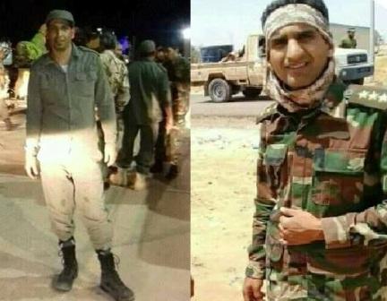 القوات المسلحة تفقد اثنين من منتسبيها إثر الألغام جنوب درنة