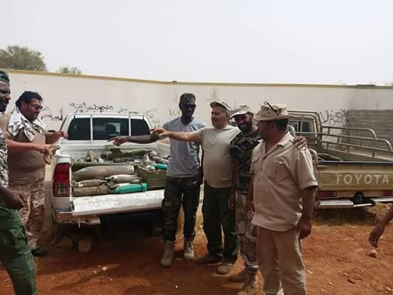 نقل 5 أطنان من مخلفات الحرب خارج بنغازي بغية تفجيرها