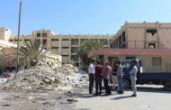 شركات صيانة تستلم موقعين في مستشفى طب وجراحة العيون ببنغازي