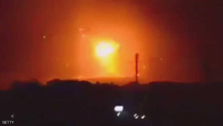 غارات ليلية  لسلاح الجو الليبي على تجمعات إرهابية براس لانوف وسرت