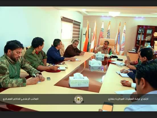 الناظوري يحدد آليات تنفيذ المرحلة الثانية من عمل الغرفة الأمنية بنغازي
