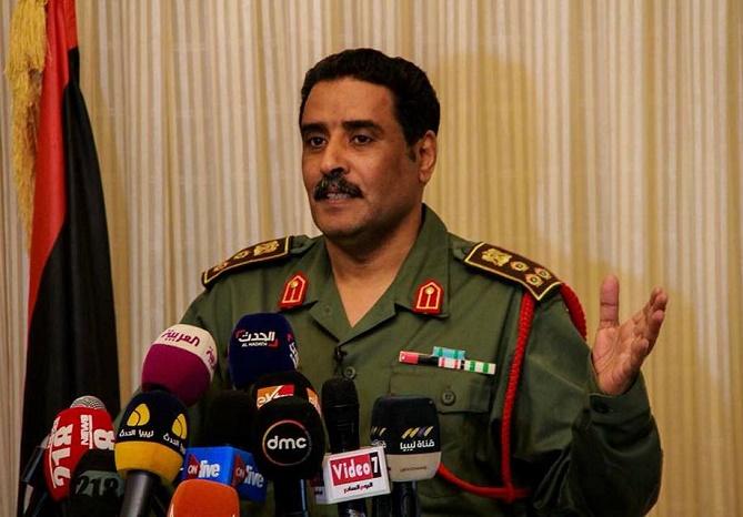المسماري يكشف عن الوضع العسكري والأمني في درنة