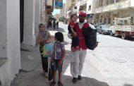 الهلال الأحمر درنة يعلن إخلاء عدد من العائلات..والأمانة العامة تنشر أرقام الطواريء