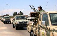 سرايا تابعة للكتيبة 276 مشاة تتوجه إلى نقاط معلومة في منطقة الموانيء النفطية