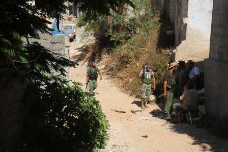 الخرطوش: القوات المسلحة تحاصر منطقة