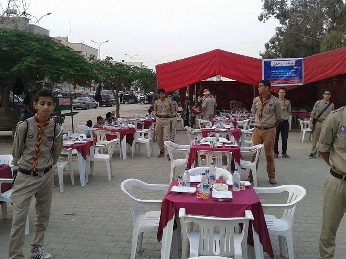 في بنغازي .. نقص السيولة يؤثر على موائد الرحمن والنساء ضيوفها