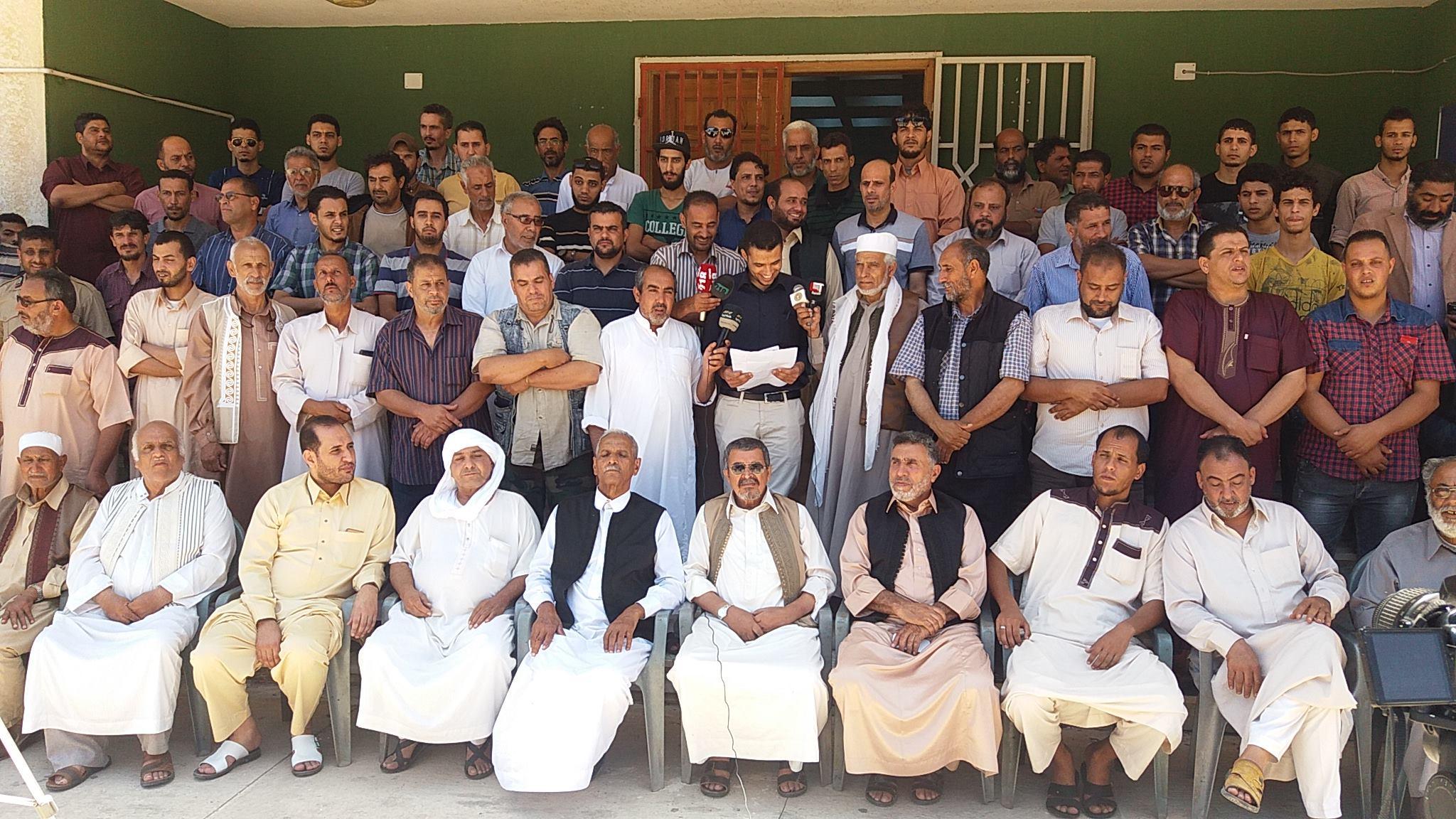 لهذه الأسباب..عدد من سكان درنة يطالبون بعودة العميد الغيثي وإسقاط عضوية انتصار شنيب