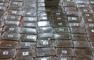 قسم نجدة بنغازي يعدم 45 كيلو جرام من مخدر الحشيش