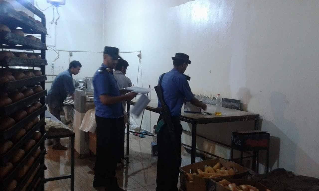 غرفة غرب بنغازي تضبط مخالفات بمخابز استلمت الدقيق المدعوم