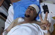 الصحفي طارق غريب يتعرض للاعتداء بآلة حادة في طبرق