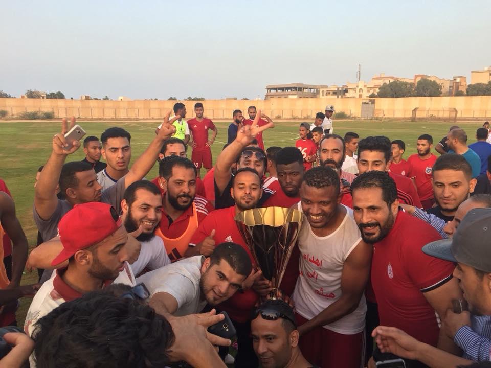 الاتحاد يهزم الهلال بهدفين ويتوج بكأس ليبيا