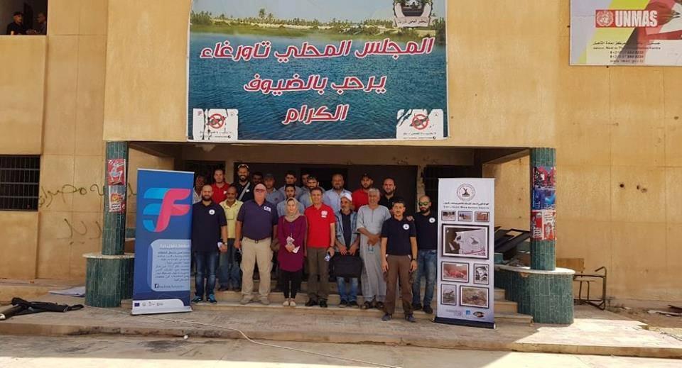 انطلاقاً من مصراتة ..البعثة الأممية تفتح ملف الألغام في تاورغاء