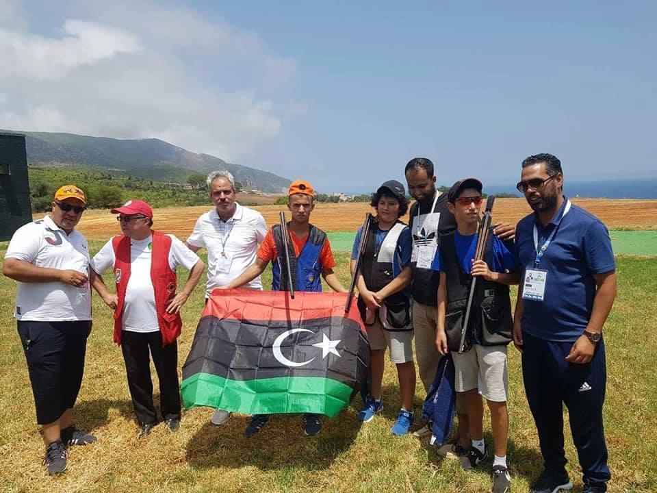 اللجنة المرافقة للبعثة الليبية في الألعاب الأفريقية تصل الجزائر