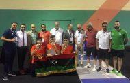 منتخب ليبيا للمبارزة يحصد الميدالية الفضية في دورة الألعاب الأفريقية بالجزائر