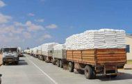 توزيع مادة الدقيق على المخابز العاملة في بلدية بنغازي
