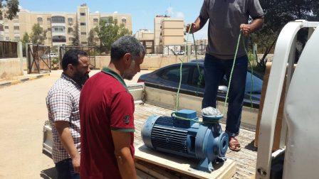 عودة تدفق المياه لعمارات 7000 وحدة سكنية