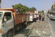 خدمات النظافة بنغازي: العمل في بعض الأقسام لم يتوقف إطلاقًا
