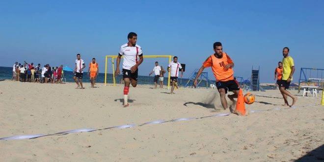 بنغازي تحتضن بطولة لكرة القدم الشاطئية