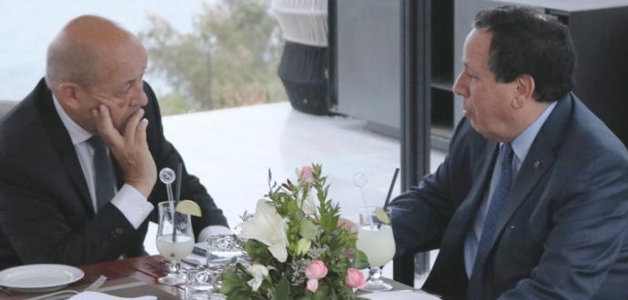 المسار السياسي في ليبيا محور مكالمة هاتفية بين وزير الخارجية التونسي ونظيره الفرنسي