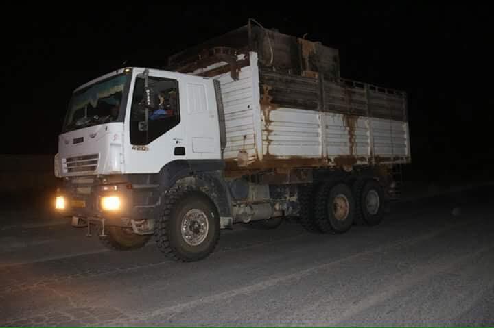 القبض على شاحنة لتهريب الوقود قُبيل دخولها إلى جالو
