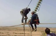 فنيي ومهندسي شركة الكهرباء يلبون نداء الواجب دون كلل أو ملل