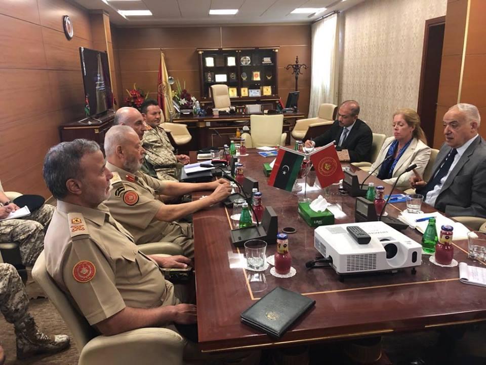 المبعوث الأممي يؤكد على ضرورة حماية المدنيين بطرابلس