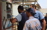 تواصل عمل الفرق الفنية للكهرباء لإزالة التوصيلات غير الشرعية في طرابلس