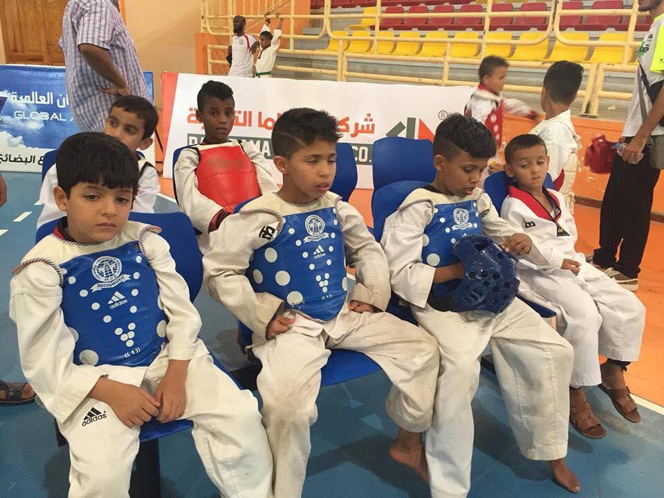 مصراتة تنجح في تنظيم بطولة التايكواندو للأشبال