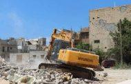 بلدية بنغازي تشرع في إزالة المباني المدمرة كلياً