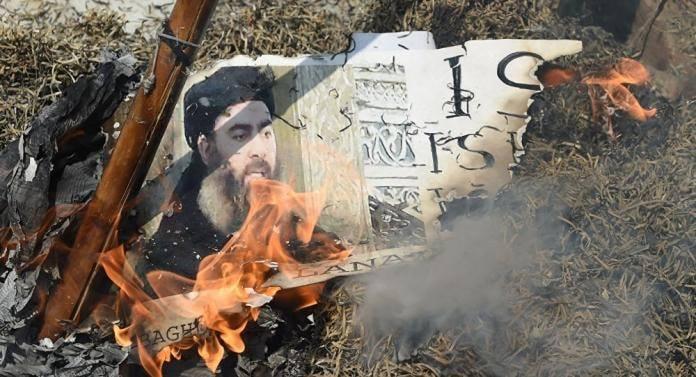 زعيم داعش هزيل ومهزوم ومسحوق مثل تنظيمه الإرهابي