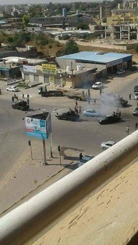 """العامة للكهرباء طرابلس: إصابة الدائرة رقم """"2"""" جنوب المدينة جراء استمرار الاشتباكات"""