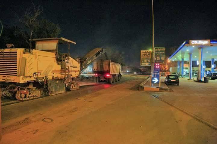 مرور بنغازي يعلن إغلاق الطريق من مفترق نادي النجمة وحتى جزيرة