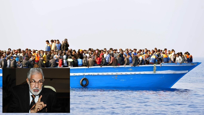 سيالة : إعادة المهاجرين لليبيا قرار مجحف وغير مشروع