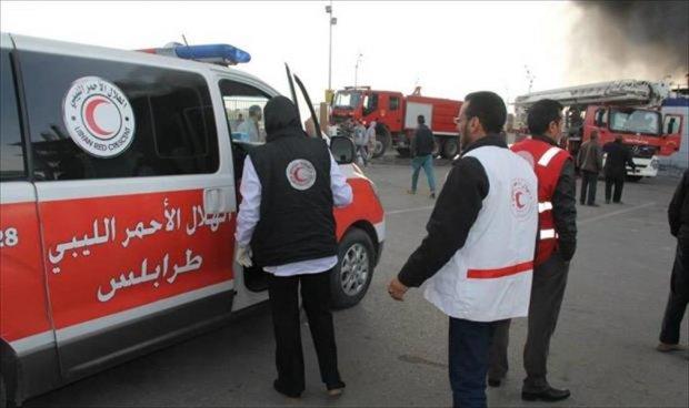 الهلال الأحمر يطالب الأطراف المتنازعة في طرابلس احترام