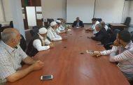 اشتباكات طرابلس على طاولة اجتماع وزير الحكم المحلي بالوفاق مع بلديات الزاوية الثلاث