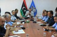 وزير الداخلية المفوض يطلع على آخر التطورات الأمنية بالعاصمة طرابلس