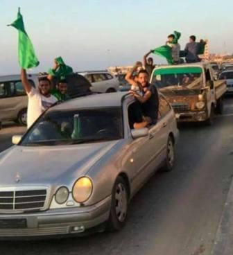 جنائي بنغازي يرد على رافعي الأعلام الخضراء