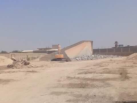 لغرض التملك غير المشروع...الأشغال العامة بنغازي تدين الاعتداء على أحد مواقعها