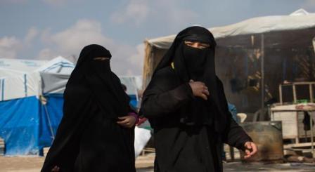 صورة الجمعيّات الحقوقيّة تحمي النّساء من إرهاب داعش