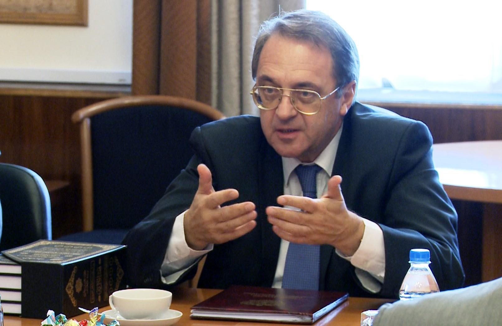 صورة مسؤول روسي: سياسة الغرب القصيرة النظر حولت ليبيا إلى معقل للإرهاب