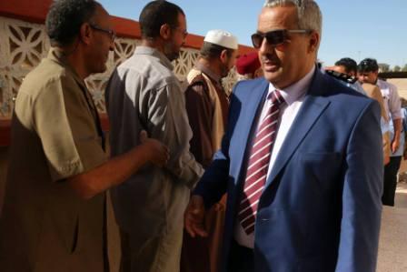 """صورة وكيل وزارة الداخلية يبحث أسباب رفض تسليم مديرية أمن جالو لـ """"العبار"""""""