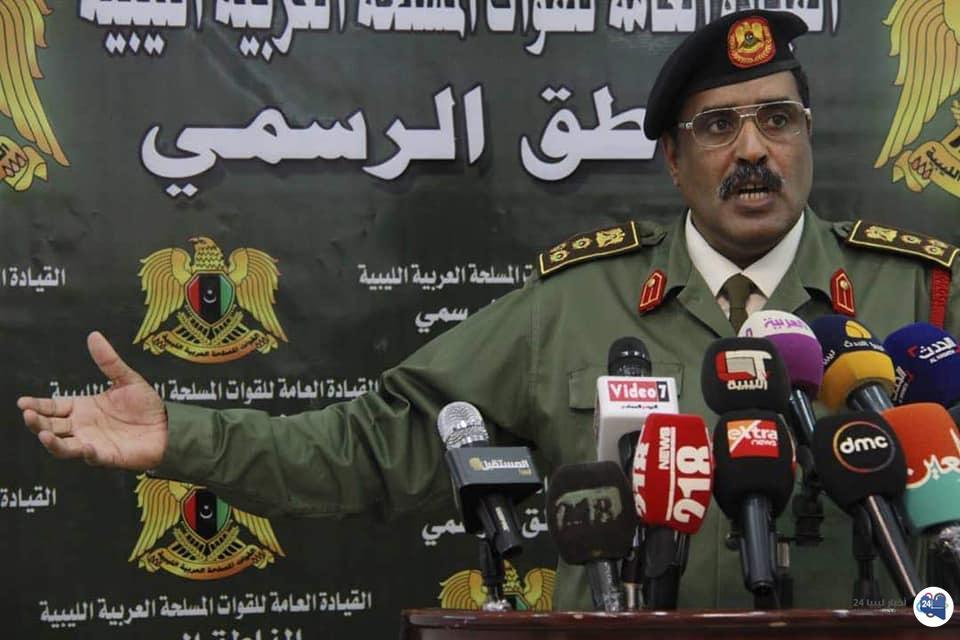 صورة المسماري : الجيش مع المؤتمر الجامع والانتخابات في الربيع المقبل